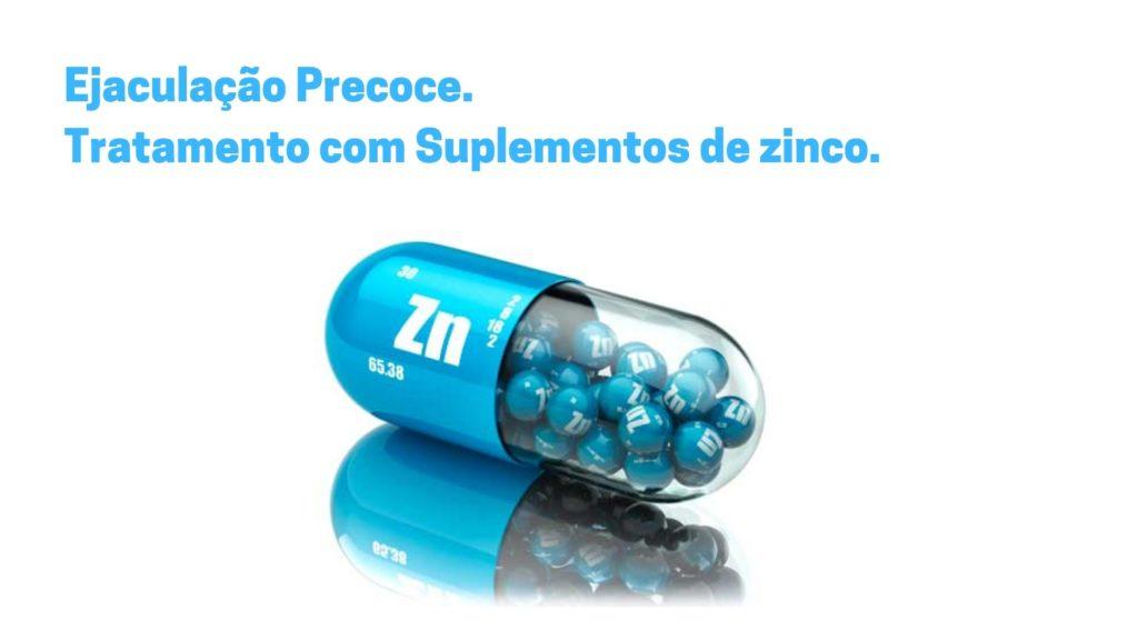 Ejaculação Precoce Tratamento com Suplementos de zinco