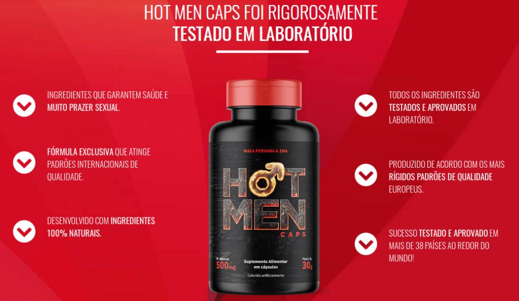 Hot Man Caps Benefícios