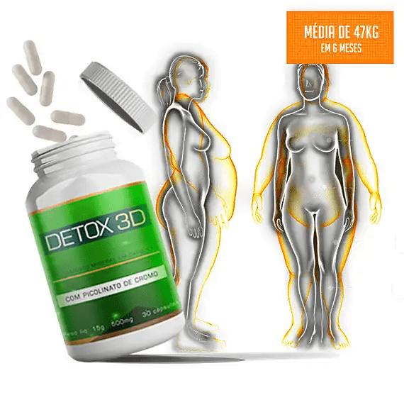 Detox 3D como funciona