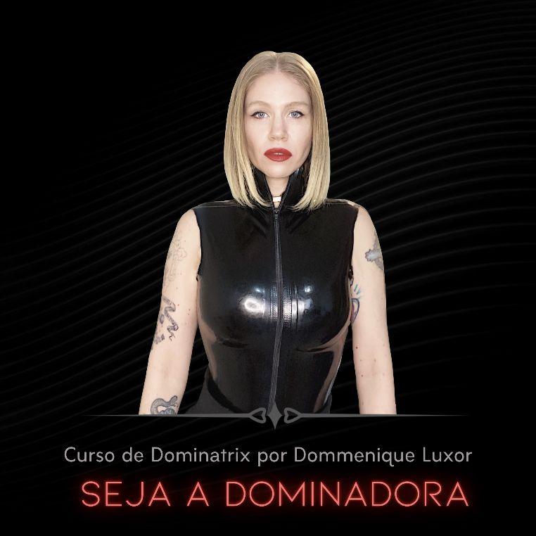 Seja A Dominadora: Curso online Dominatrix