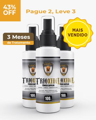 3 frascos de TRIOXIDIL